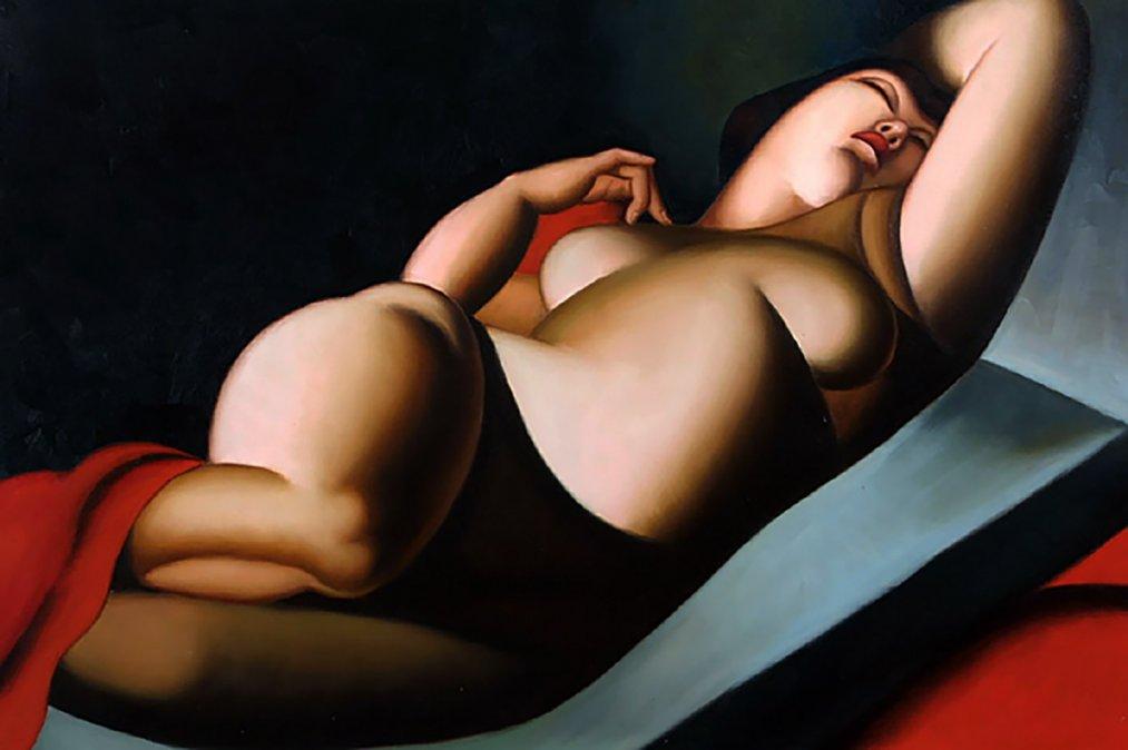 1930 - La bella Rafaela - Tamara Lempicka - Colección privada