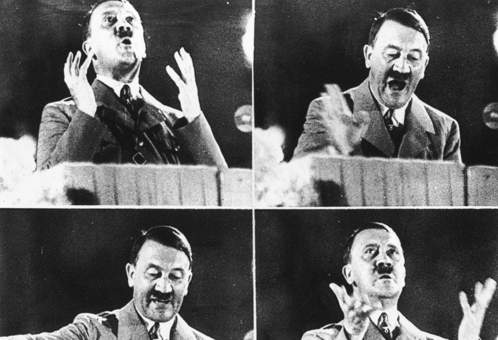 El último discurso de Hitler