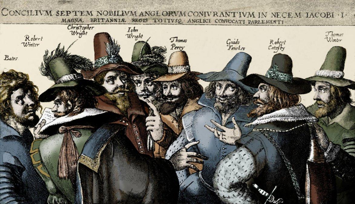 La muerte de Guy Fawkes.