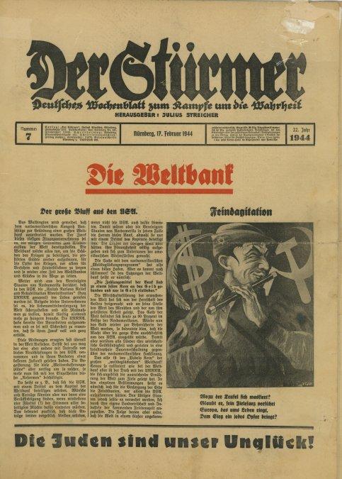 El atacante: El antisemitismo de Julius Streicher