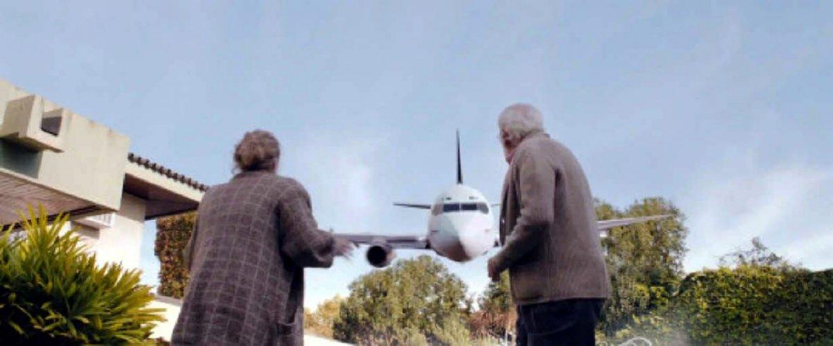 Quince películas con acción en un avión