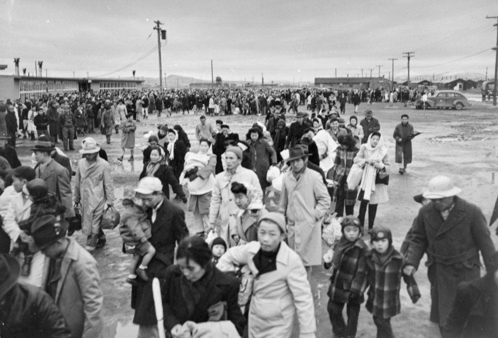 Los campos de concentración para japoneses