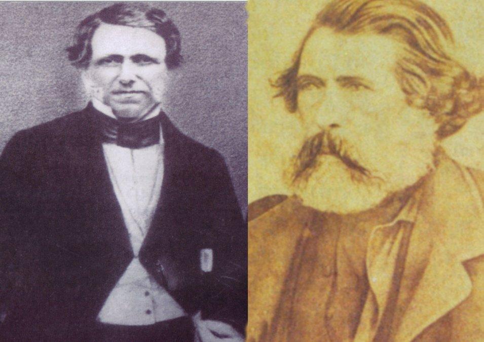 Venancio FloresyBernardo Berro