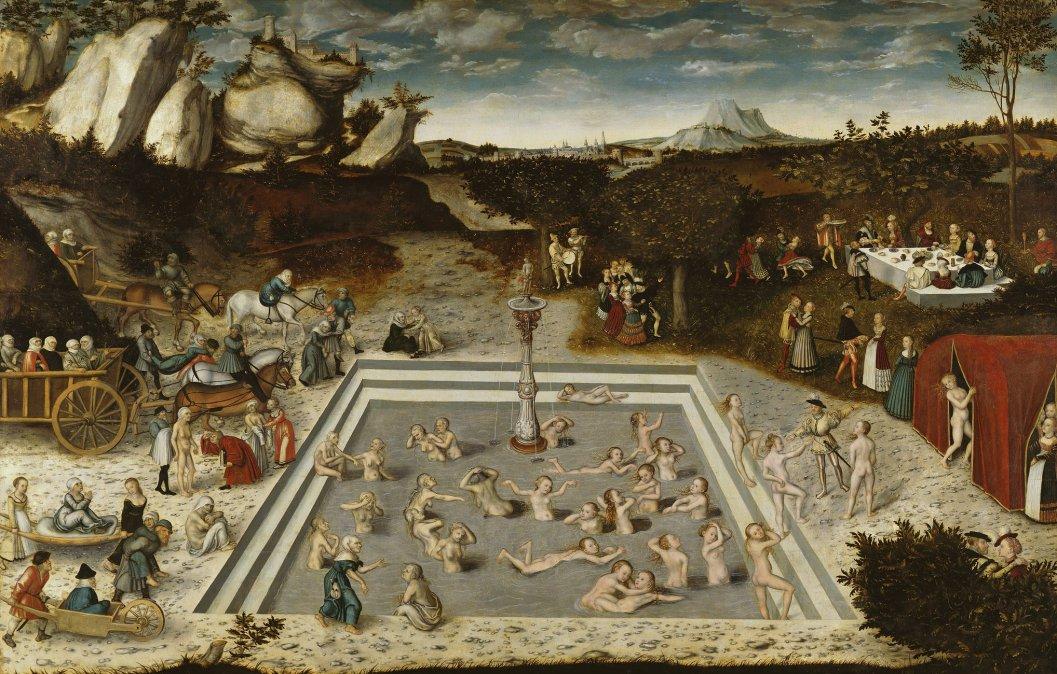 La fuente de eterna juventud - 1546 - Lucas Cranach el Viejo