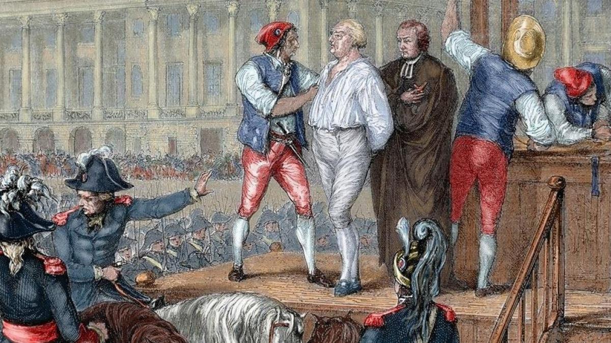 La ejecución Luis XVI y el final de un régimen