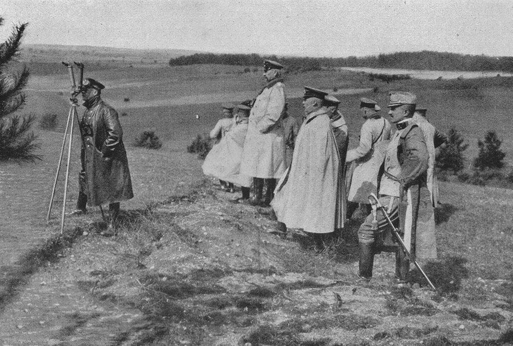 Las batallas de los Lagos Masurianos o la ineptitud de las tropas del zar