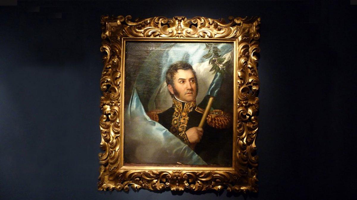 El cuadro de José de San Martín que genera discordia entre artistas