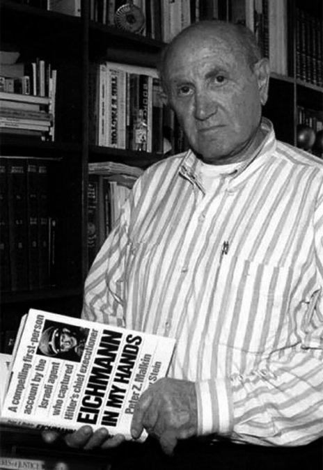 Meter Zvi Malkin, el espía que capturó a Eichmann