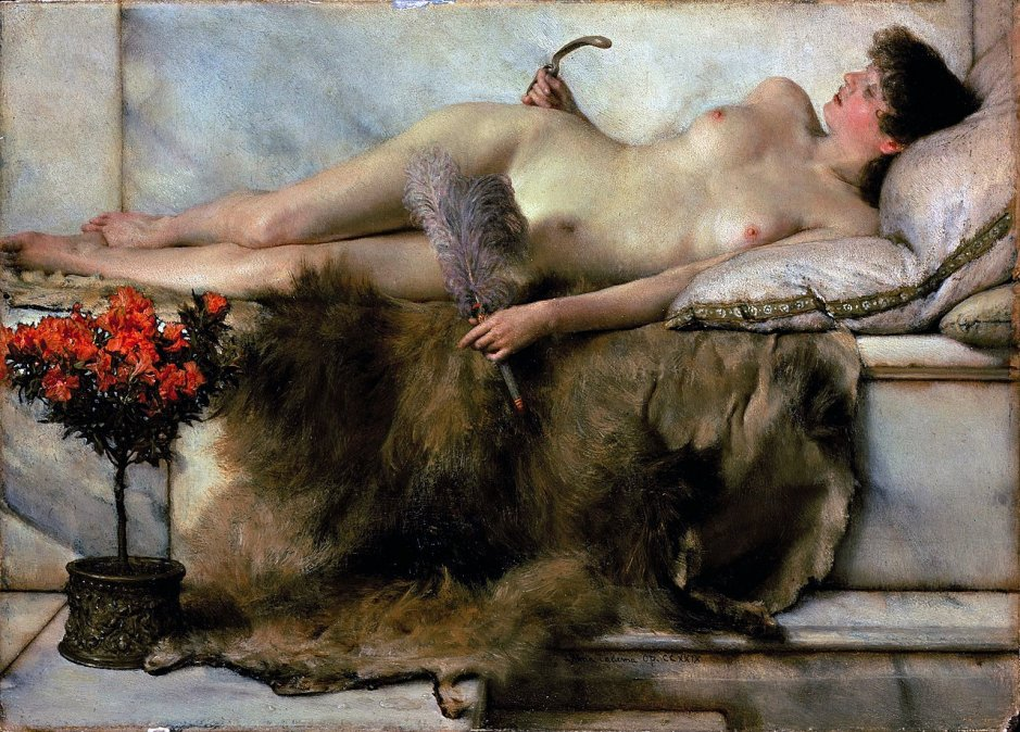 1881 - Tepidarium - Sir Lawrence Alma-Tadema - Lady Lever Art Gallery