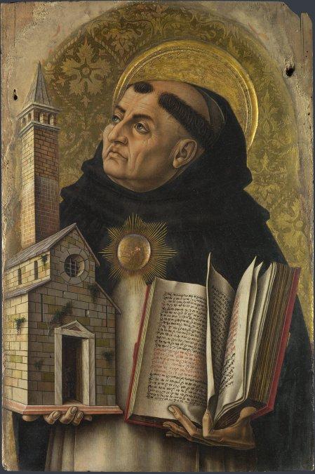 La muerte de Santo Tomás de Aquino