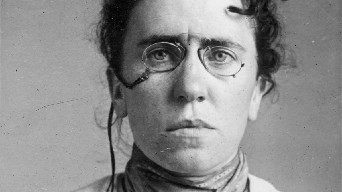 Emma Goldman.                                                                                                                                                                                           © Getty Images