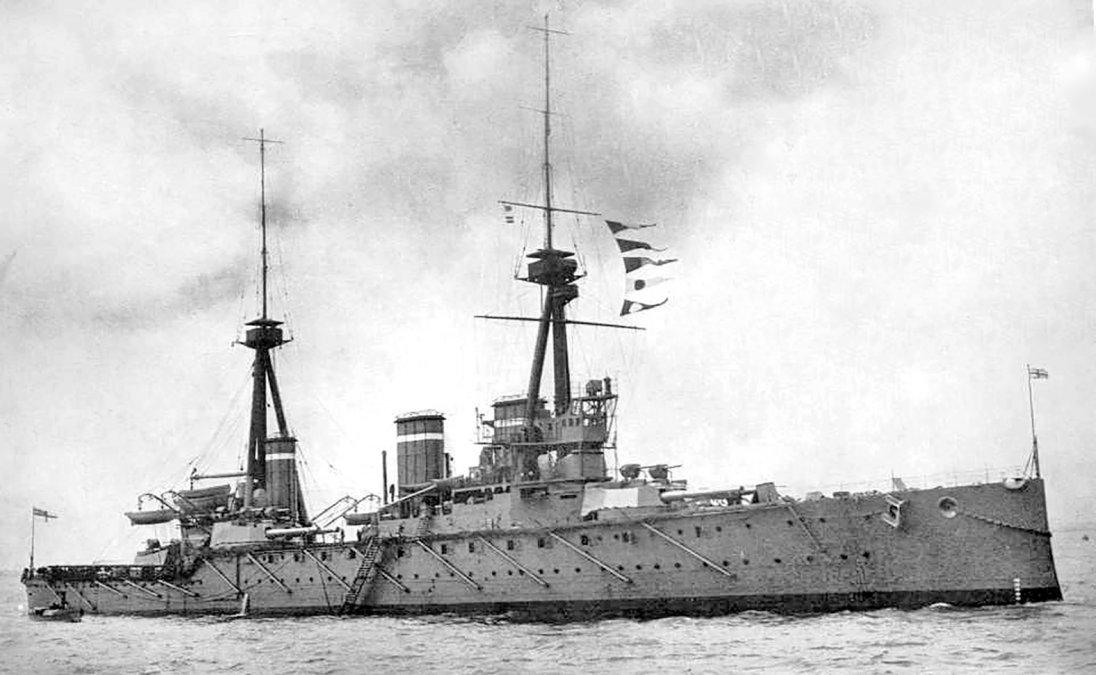 HMS Invincible.