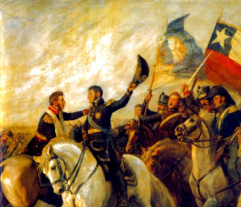 Así fue la batalla de Maipú, la contienda que liberó a Chile
