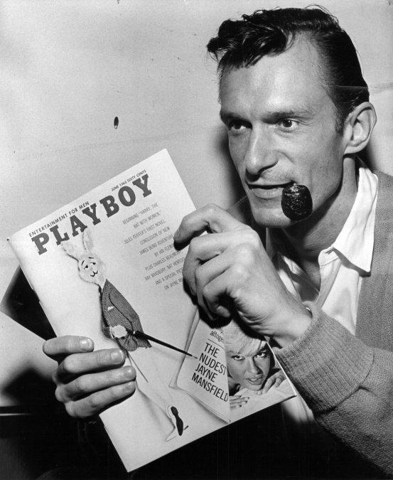 Hugh Hefner, fundador del imperio Playboy