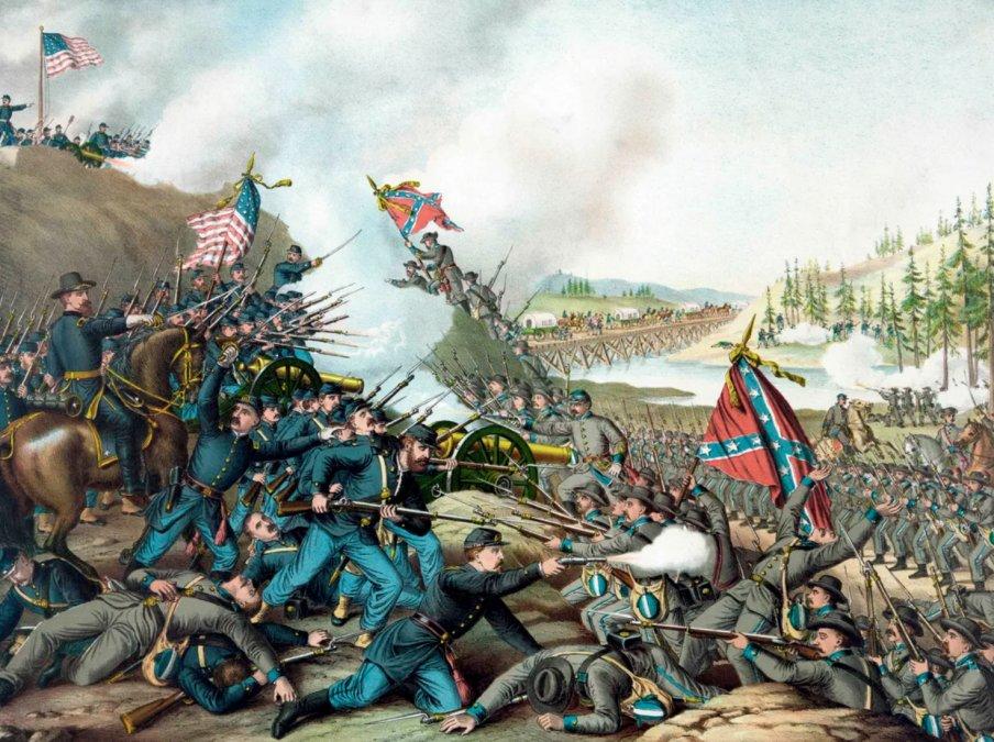 La guerra de Secesión