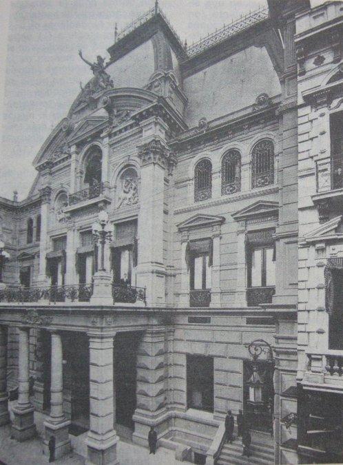 Jockey Club de Buenos Aires (Argentina). Este edificio fue inaugurado en  1897