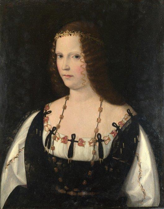 Posible retrato de Lucrecia Borgia.
