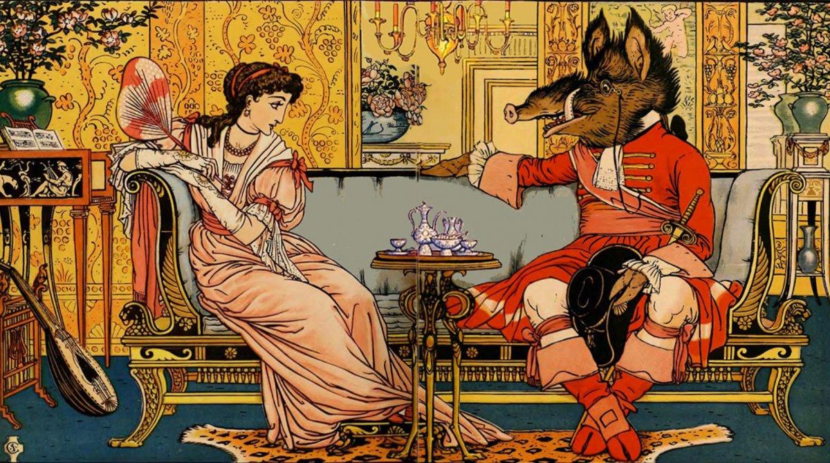 Ilustración de Walter Crane
