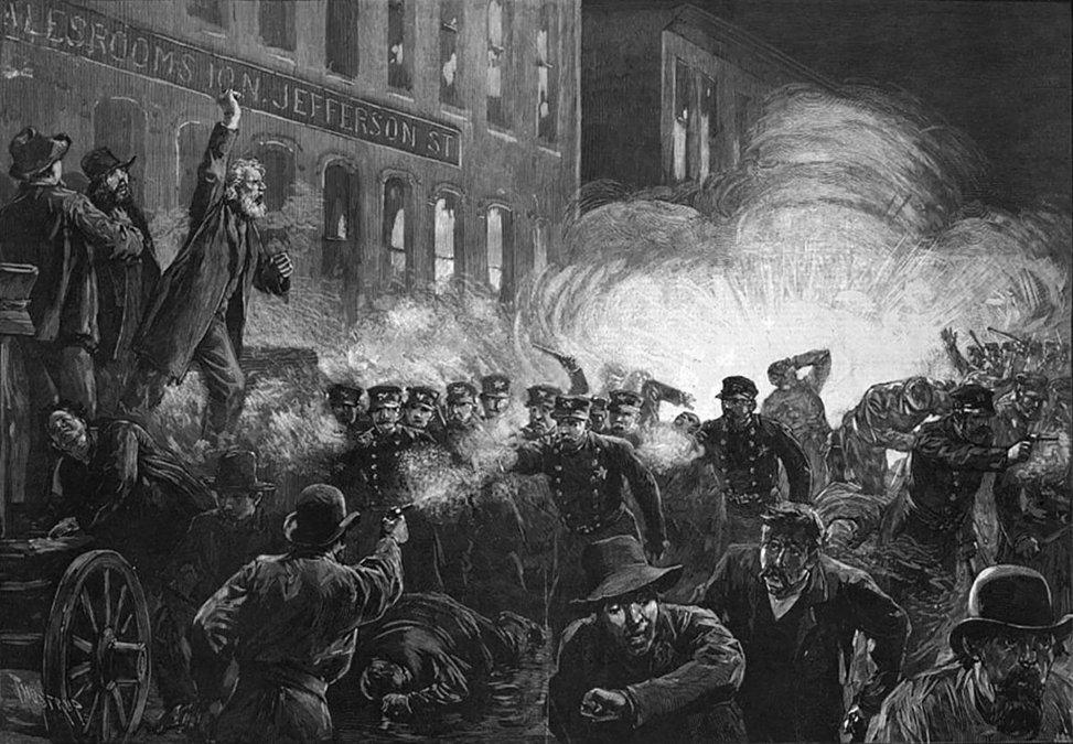 Primero de Mayo: La revuelta de Haymarket