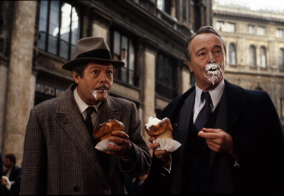Marcello Mastroianni y Jack Lemmon