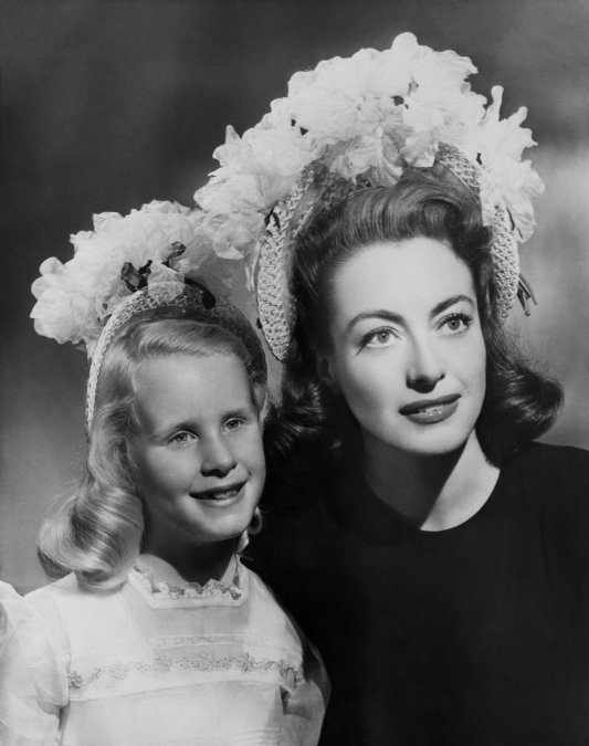 Joan y Christina Crawford