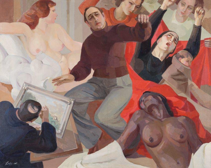Autor: Guillermo Laborde Colección: Museo Nacional de Artes Visuales de Uruguay
