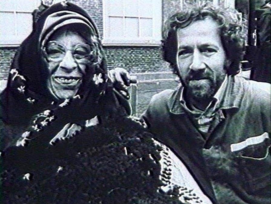 Lotte Eisner y Werner Herzog