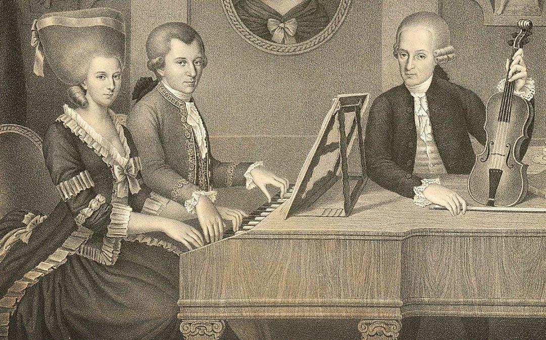 Mozart y su padre: una relación difícil