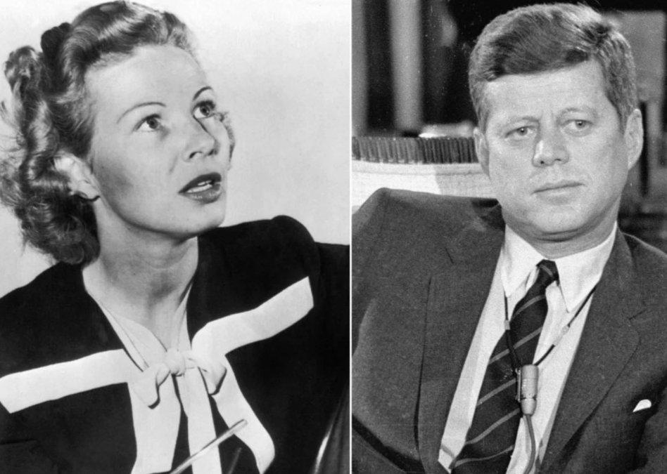 Inga Arvad - John F. Kennedy