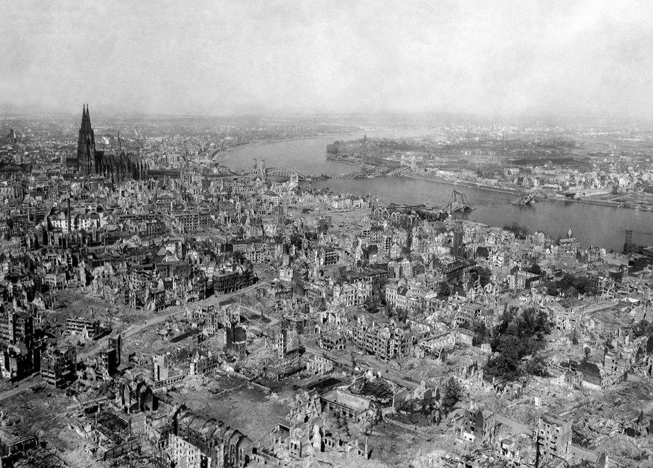 Colonia en 1945.