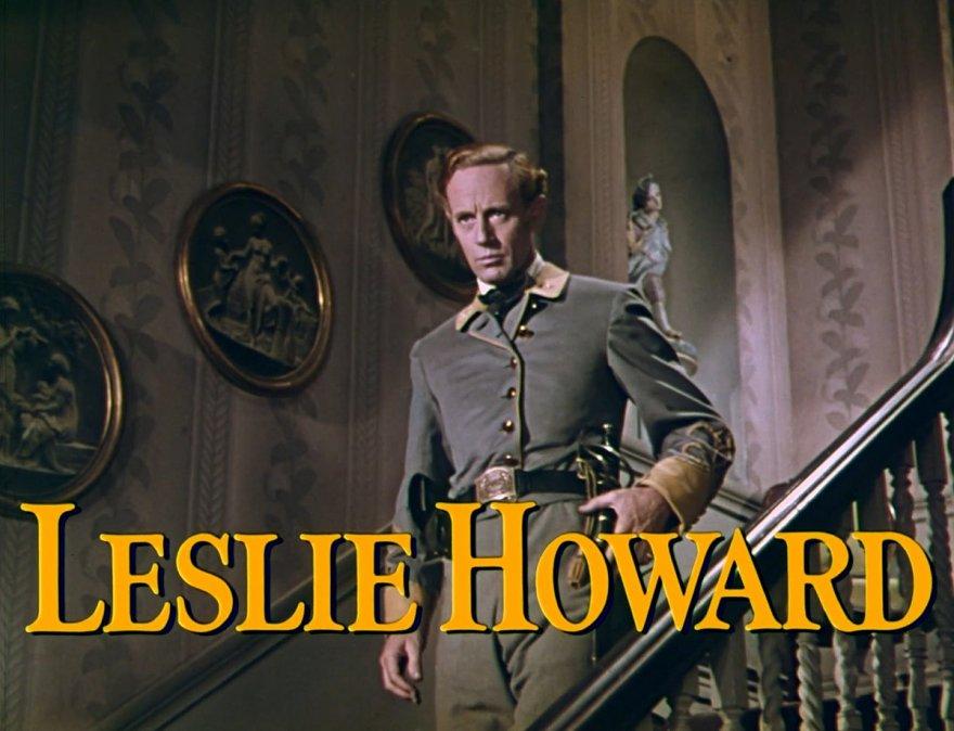 Leslie Howard en Lo que el viento se llevó