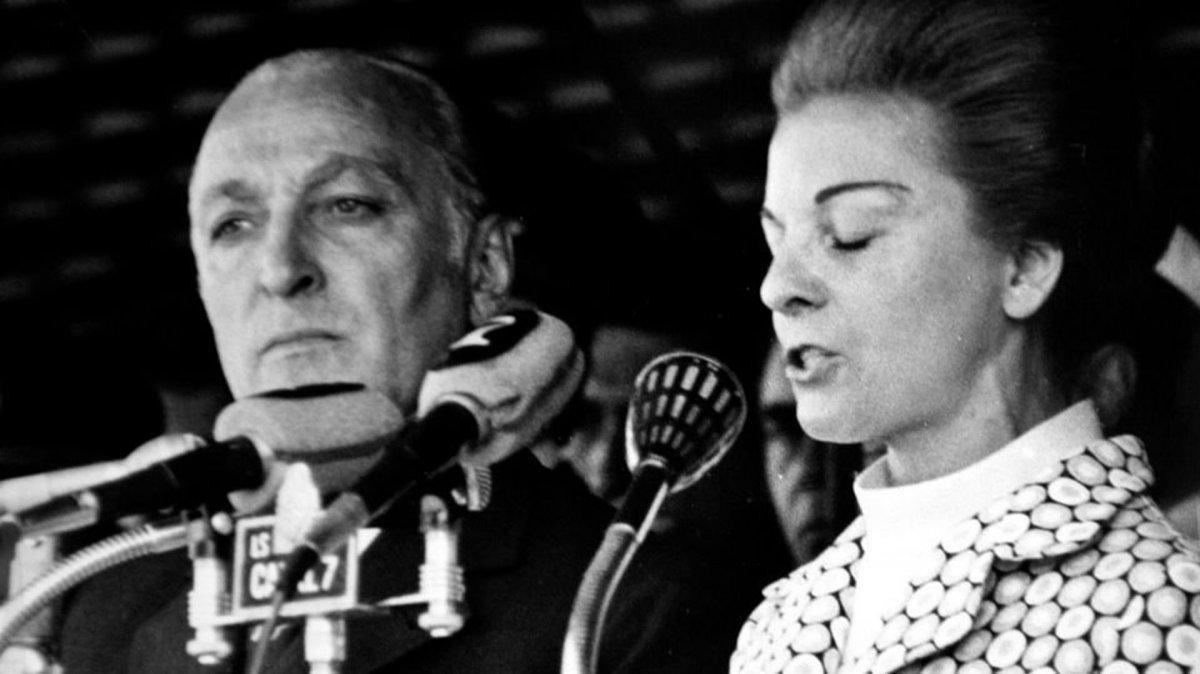 José López Rega - María Estela Martínez de Perón