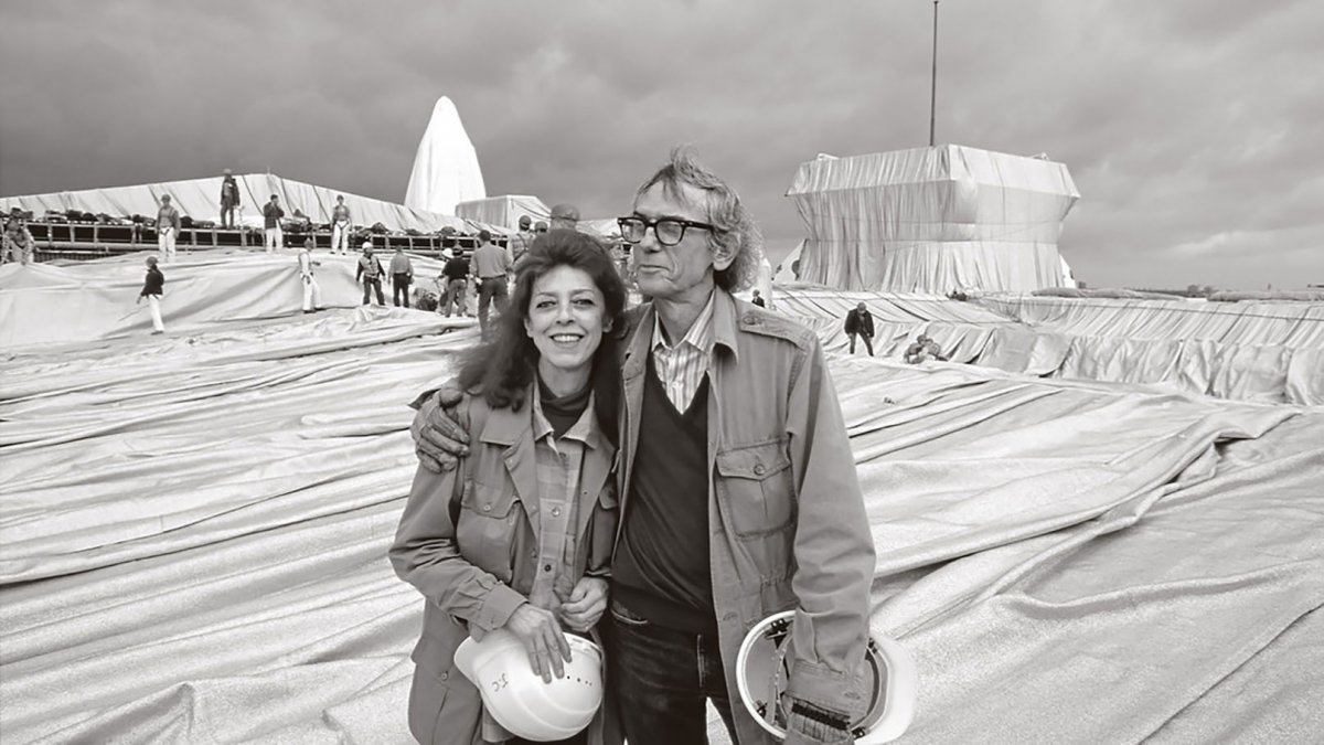 Christo y Jeanne Claude