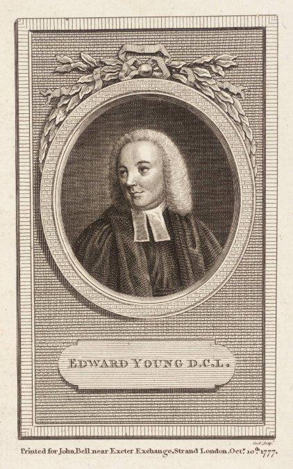 Edward Young: Poeta de los cementerios