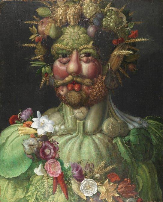 Arcimboldo y el mundo vegetal