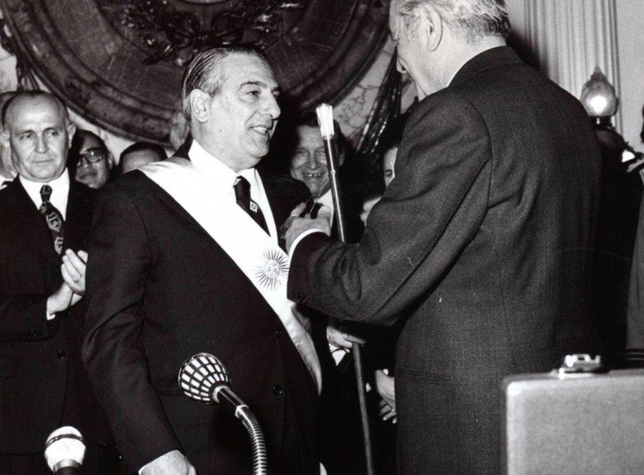 Raúl Lastiri asumió la presidencia desde el 25 de mayo hasta el 13 de julio de 1973.