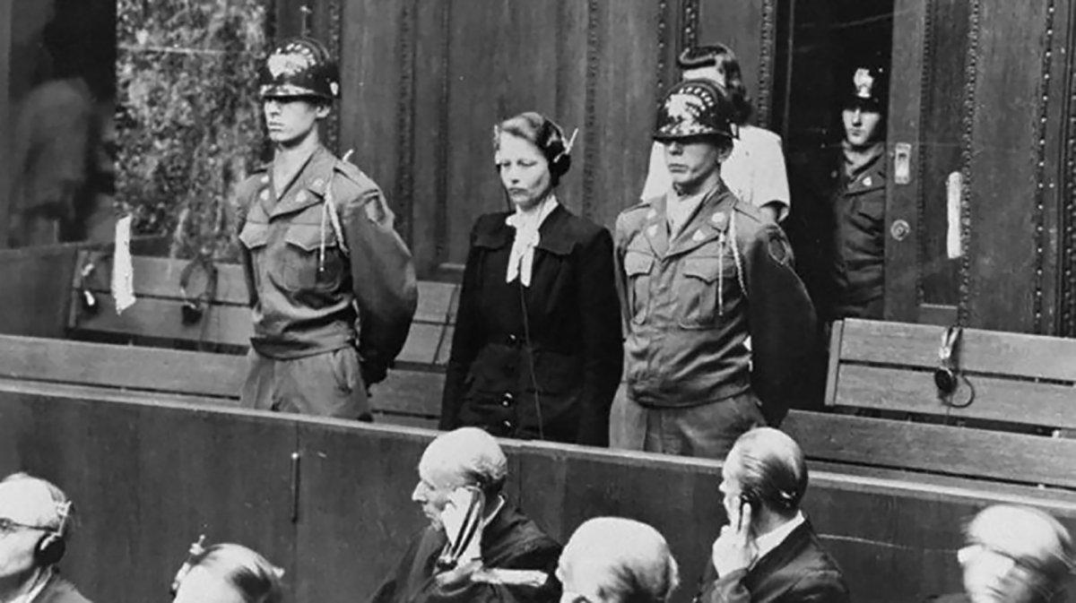 Herta Oberheuserfue hallada culpable de crímenes de lesa humanidad durante el juicio de Nüremberg.