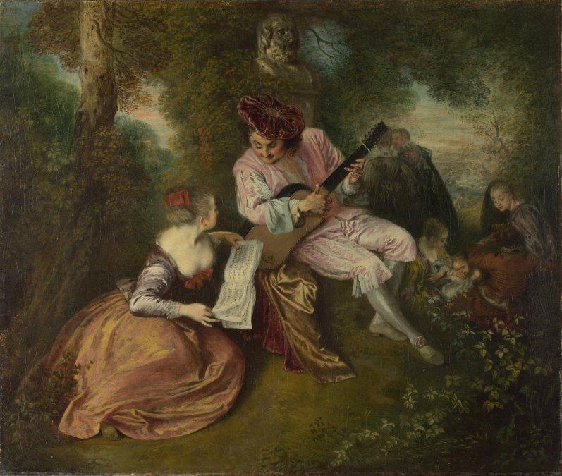 Watteau y la fête galante