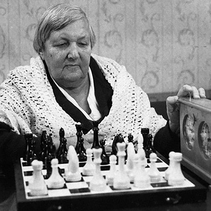 Lyudmila Rudenko, la ajedrecista que salvó niños durante el Asedio de Leningrado