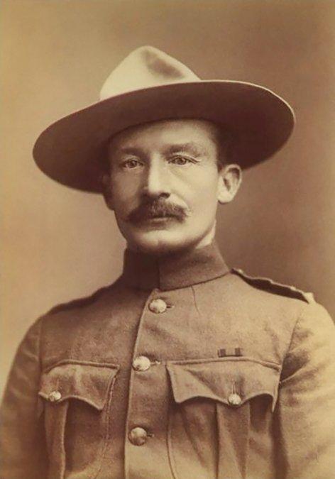 El corazón africano de Baden-Powell, mítico fundador de los Boy Scouts