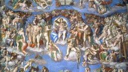El Juicio final • Miguel Ángel • 1541 • Capilla Sixtina, Vaticano, Italia.