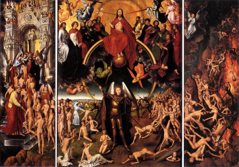 El Juicio Final • Hans Memling • 1473 •  Museo Nacional de Gdansk