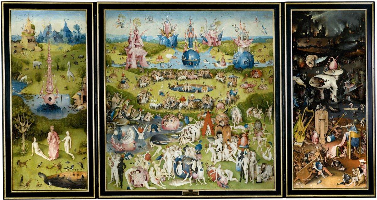 El Jardín de las Delicias • El Bosco • 1490 • Museo del Prado