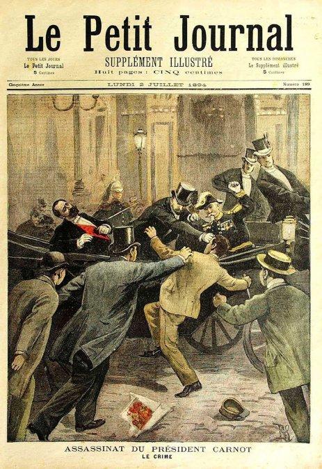 Asesinato del presidente Sadi Carnot