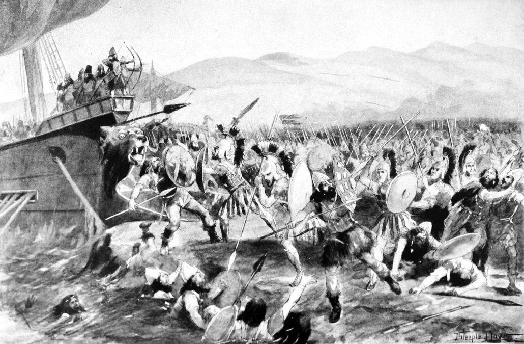 El mito de la batalla de Maratón: los «pacíficos» atenienses enseñan a los espartanos a aplastar persas