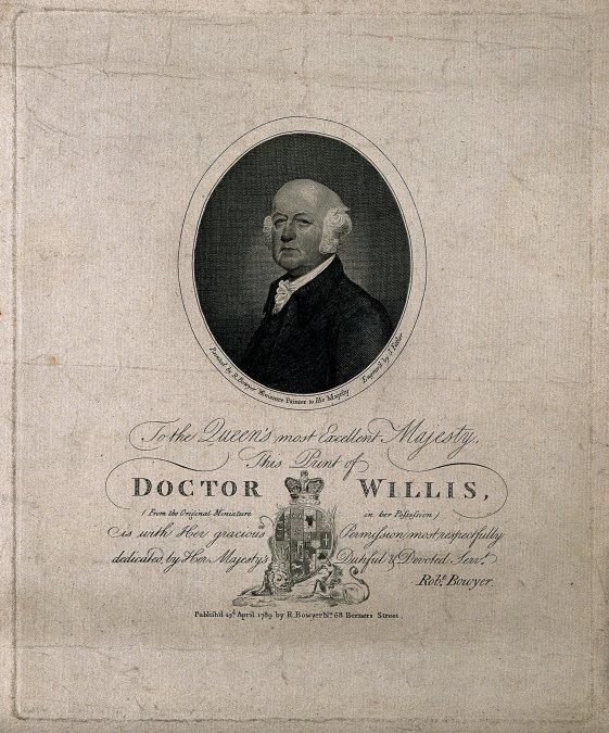 Francis Willis y la locura real