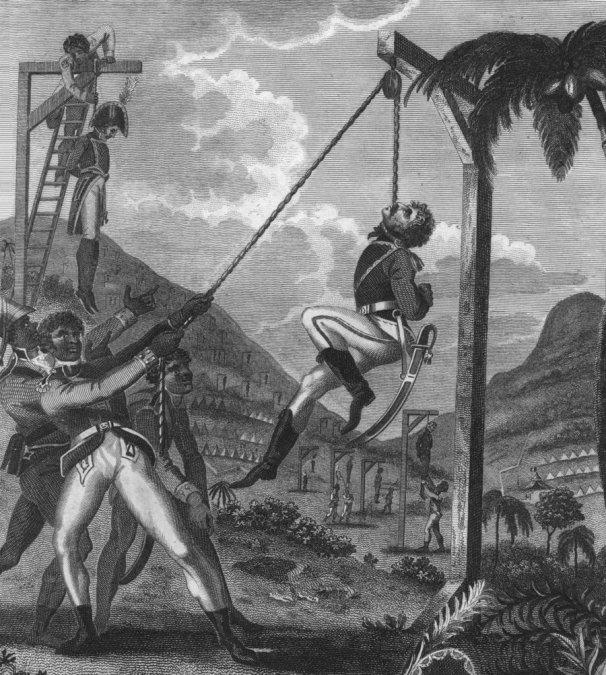 Revuelta de esclavos en Haití