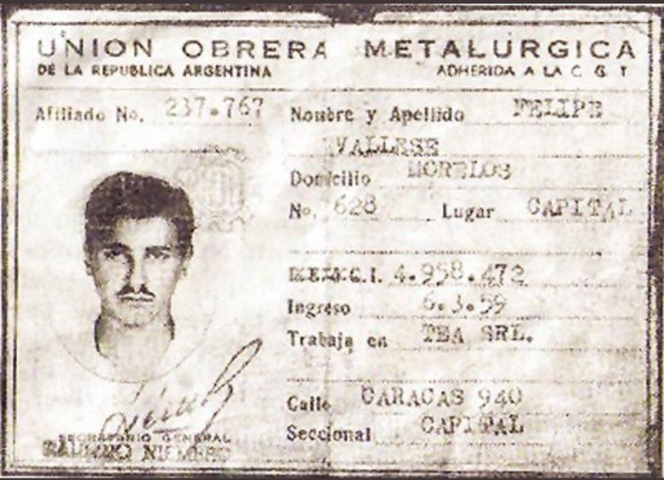 Felipe Vallese, el primer desaparecido