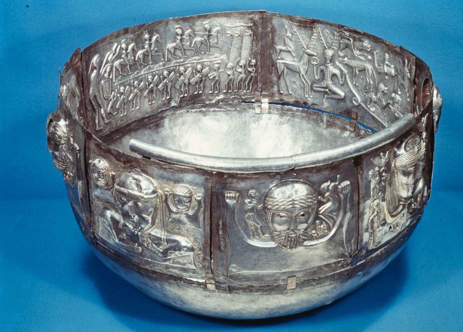 El caldero de plata Gundestrup