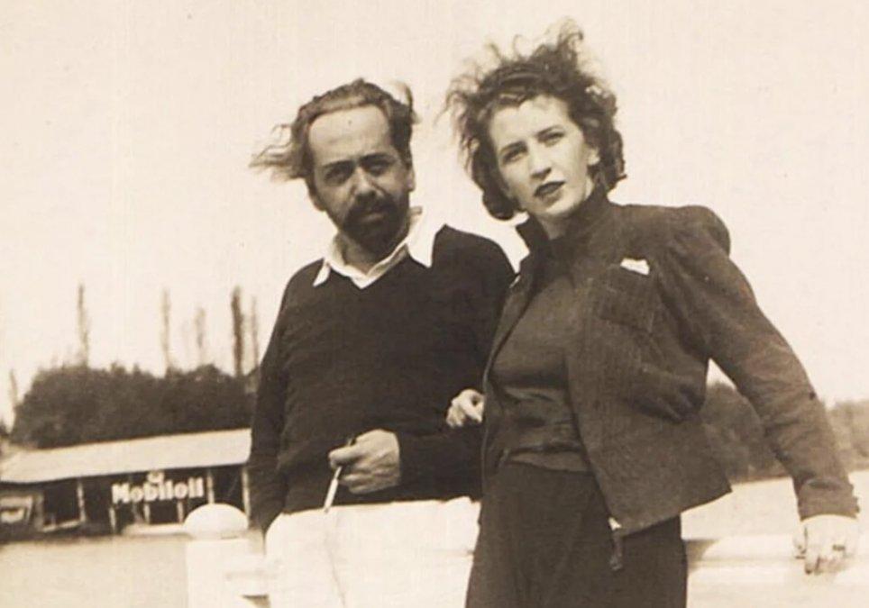 Oliverio Girondo y Norah Lange en La Recalada